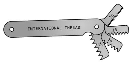 14 Determine Thread Pitch