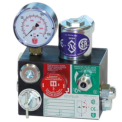 شیر آسانسوری مدل KV1-P