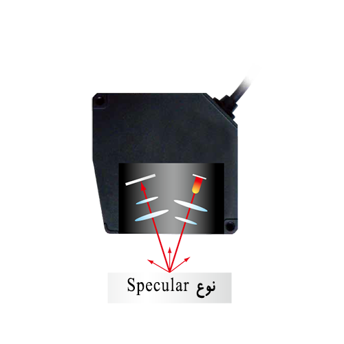 سنسور لیزری فاصله نوع Specular