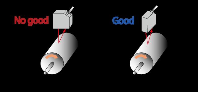 نصب سنسور بر روی قطعه دوار