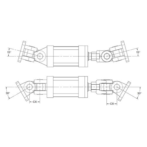 نحوه عملکرد رابط دو محور - جک هیدرولیک - قسمت چهارم