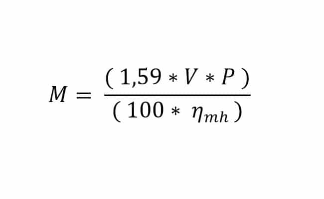 فرمول محاسبه گشتاور در سیستم متریک - پاوریونیت-قسمت 4